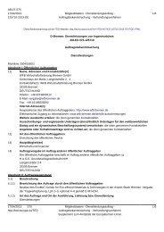 D-Bremen: Dienstleistungen von Ingenieurbüros - WFB ...