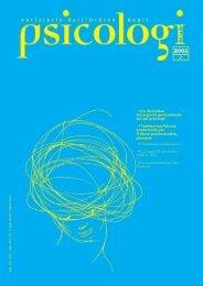 Notiziario n. 2/2002 - Ordine degli Psicologi del Lazio