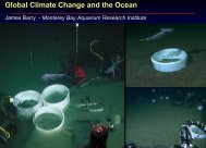 Global Climate Change and the Ocean ... - State of California
