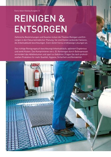 rEInIgEn & EntsOrgEn - Evers GmbH