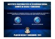 descripción - Instituto Guatemalteco de Seguridad Social