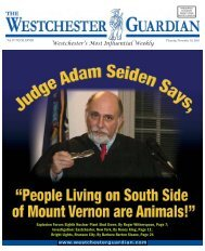 Westchester's Most Influential Weekly - WestchesterGuardian.com