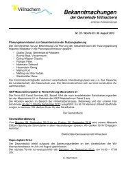 Nr. 32 / Woche 35 / 30. August 2013 - Gemeinde Villnachern