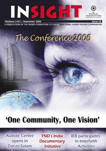 INSIGHT (Shabaan 1427 - September 2006) - The World Federation ...