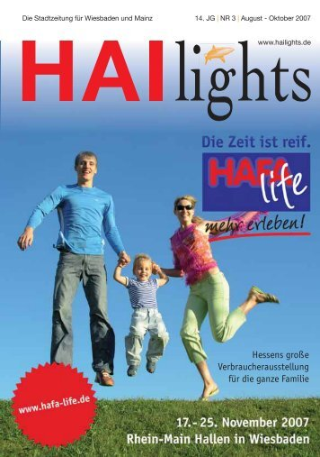ai Lights Magazin - HAI-Lights