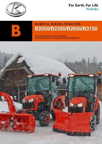 B50-Serie Kubota B2050 / B2350 / B2650 / B3150
