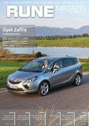 Opel Zafira - RUNE Piese Auto