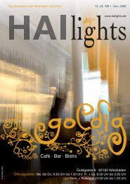 Hai Lights Magazin