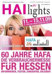 """""""Neues aus Deutschland"""" und Länder schwerpunkt ... - HAI-Lights"""