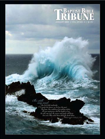 thanks to you - Baptist Bible Tribune