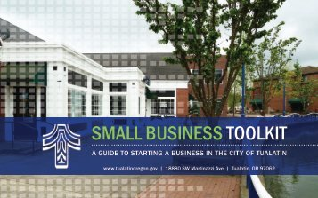 Small Business Toolkit - City of Tualatin