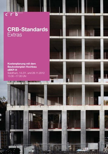 CRB-Standards Extras - sia