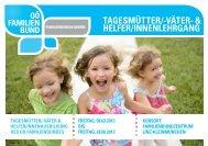 tagesmütter/-väter- & helfer/innenlehrgang - OÖ Familienbund