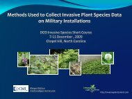 Data Collection - Invasive Plant Control, Inc.