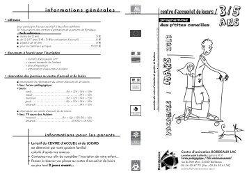 3_5 ans mars 2013 - Association des centres d'animation de ...