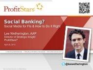 Social Banking?