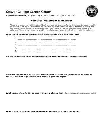 Writing a personal statement for grad school quiz | Grad school ...