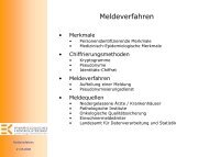 Dr. Volker Krieg, Meldeverfahren - Krebsregister NRW
