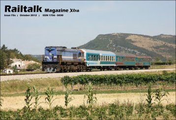 Issue 73x | October 2012 | ISSN 1756 - 5030 - Railtalk