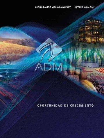 2007 Annual Report - Spanish - ADM