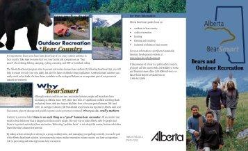 Bear Recreation brochure