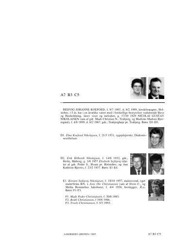 A7 B3 C5 - Lauegaardsfamilien