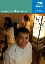 Careers in healthcare science - St George's, University of London