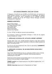 Ple 30 de juny - Ajuntament de Rasquera - Diputació de Tarragona