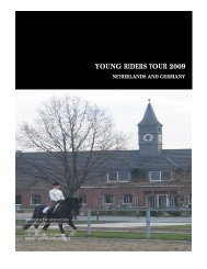 YOUNG RIDERS TOUR 2009 - Equestrian Victoria