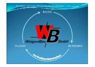Weigand Bau GmbH - ein Partner für regionale Netzkonzepte