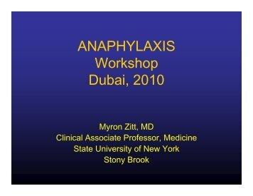 Myron Zitt - World Allergy Organization