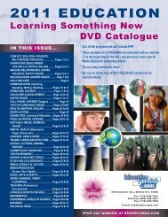 2011 EDUCATION - Kinetic Video