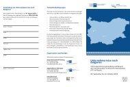 Unternehmerreise nach Bulgarien
