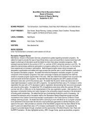9-6-11 board meeting minutes - Bend Parks and Rec