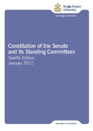 Constitution of the Senate and its Standing Committees