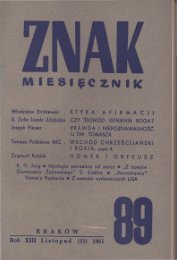 listopad 1961 roku - Znak