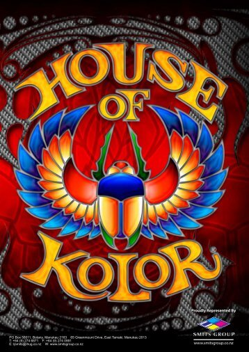 Download the 2009 House of Kolor 16 page brochure ... - Smits Group