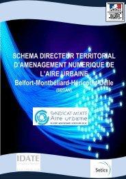 Télécharger le SDTAN de l'Aire urbaine - Syndicat mixte de l'aire ...