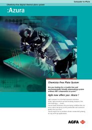 :Azura; Chemistry-free digital thermal plate system ... - Offset Supplies