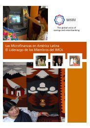 Las Microfinanzas en América latina - Wsbi