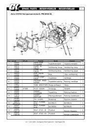 Artnr 510183 Vannpumpe motordr. PM 20/36 GL