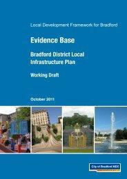 Local Infrastructure Plan - Bradford Metropolitan District Council