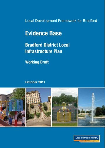 Local Infrastructure Plan - Bradford Metropolitan District Council