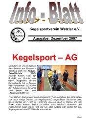 Dezember 2007 - KSV Wetzlar