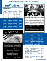 accounting? - Cedar Valley College
