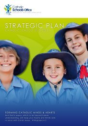 STRATEGIC PLAN - Catholic Schools Office Maitland-Newcastle