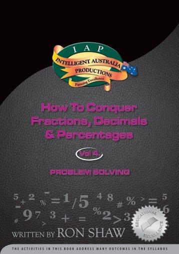 Fractions 4 - Australian Teacher