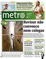 Jornal Metro São Paulo