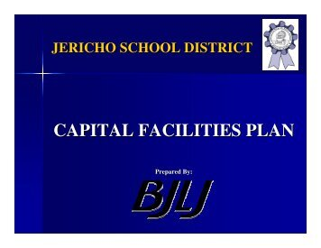 CAPITAL FACILITIES PLAN - Jericho School District