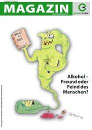 Alkohol – Freund oder Feind des Menschen? - Grüner Kreis